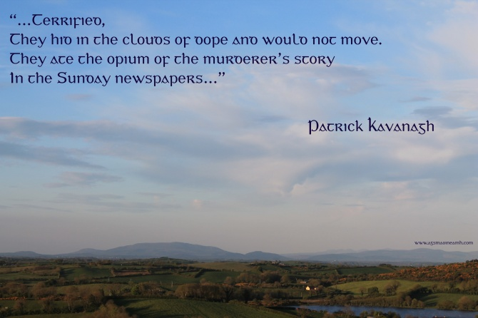 Quote from Jim Larkin, by Patrick Kavanagh. Image (c) agsmaoineamh.com